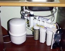 Установка фильтра очистки воды в Аксае, подключение фильтра очистки воды в г.Аксай